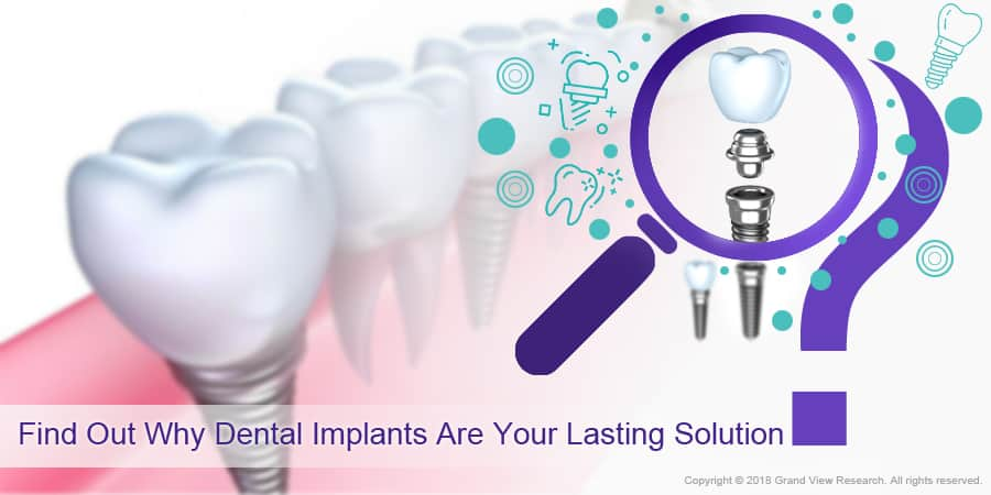 Find Out Why Dental Implants Are Your Lasting Solution?
