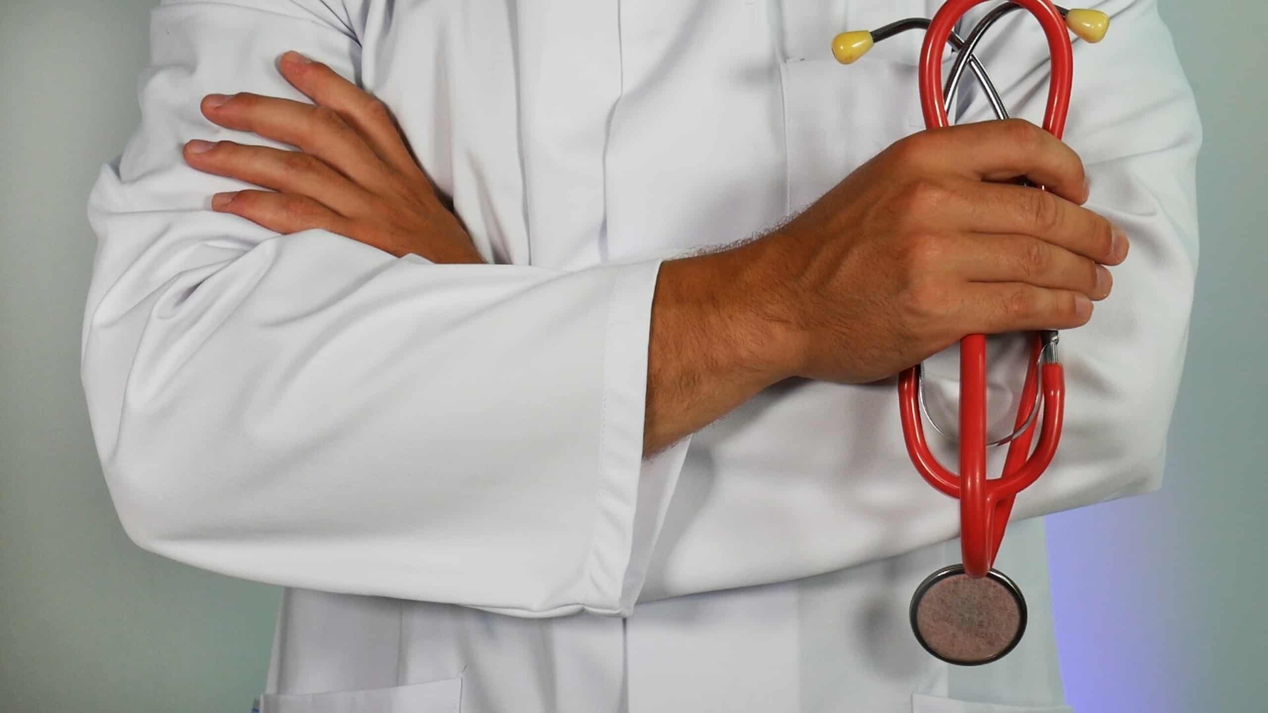Doctor with a stethoscope